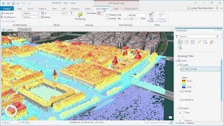 Preparing Point Cloud Scene Layers in ArcGIS Pro