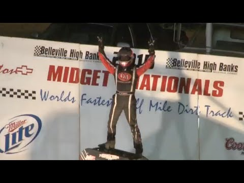 Bryan Clauson Wins the 2015 Belleville Midget Nationals