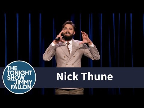 Nick Thune Stand-Up -- Part 1 - YouTube