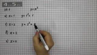 Упражнение 37.1. Алгебра 7 класс Мордкович А.Г.