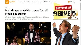 South African False Prophet Extradited