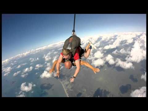 Skydive at mission Beach Australia By Istvan Szabo