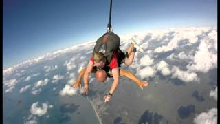 Skydive at mission Beach Australia By Istvan Szabo