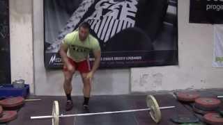 Dmitry Klokov - Training exercise for Snatch @ Butcher