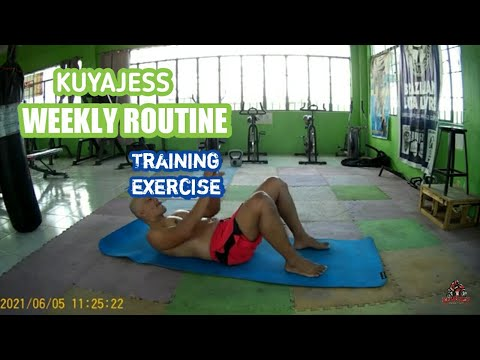 weekend training exercise with COACH ALBERT MENDOZA| boosting energy |immune system