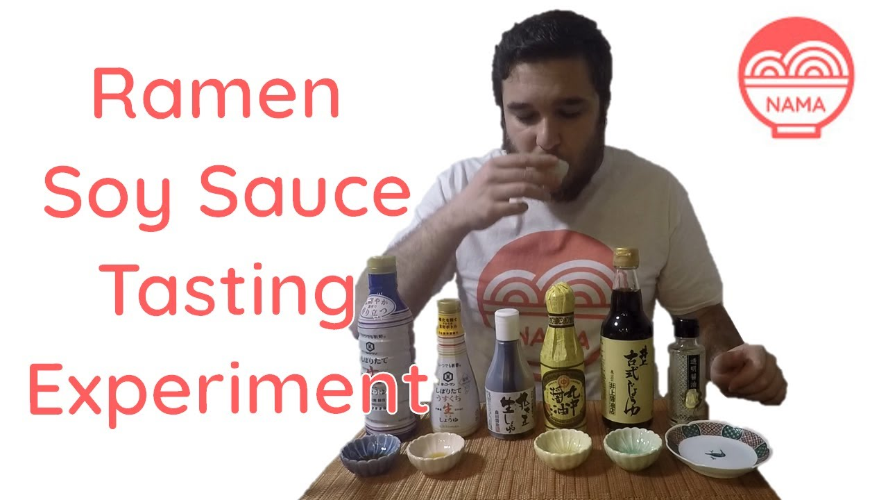 What is the BEST Soy Sauce for Ramen? - Shoyu Tasting Experiment