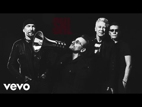 U2 - Get Out Of Your Own Way  On SNL