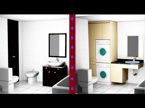 Como convertir el ba o en un cuarto de lavado resumen for Lavadero de bano precio