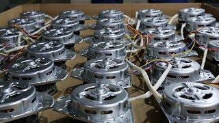 Three Phase Washing Machine Motor Automatic Stator Production Line Video