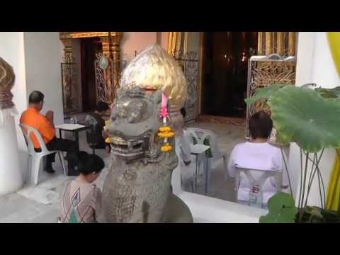 Baśniowa Tajlandia. Phitsanulok. Wat Phra Sri Rattana Mahathat. Wielka Świątynia.
