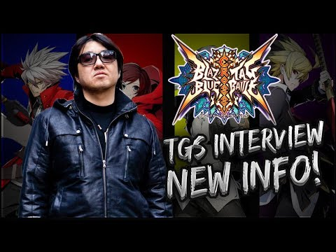 TGS Mori Interview! New Information On Blazblue Cross Tag Battle!! |