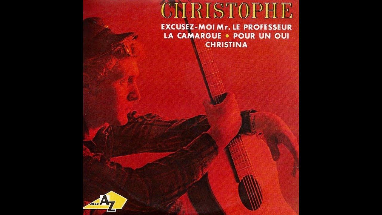 Christophe -  Excusez moi Mr  le professeur & Cette vie là - 66 et 65.   B.B.