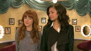 Bella Thorne & Zendaya  | Shake It Up: Live 2 Dance BTS (pt 1) | Disney Playlist