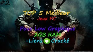 TOP 5 Meilleur Jeux PC Pour Low Graphique 2GB Ram+Liens Téléchargement en version Cracké #2!