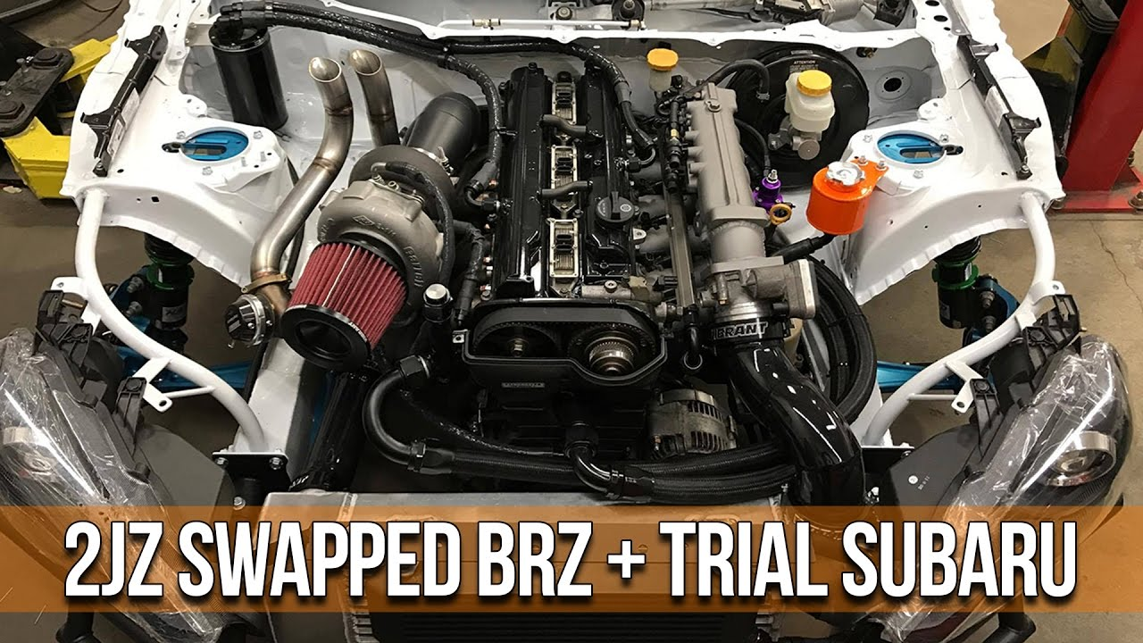2jz Swapped Brz And Extremely Rare Subaru Gc8 At Nv Auto
