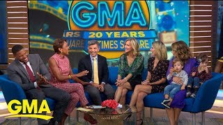 Celebrating 20 years of 'GMA' in Times Square l GMA
