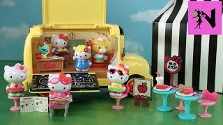 HUGE Hello Kitty =^..^= Back to School Bus Classroom/Lunch Playset ハローキティ
