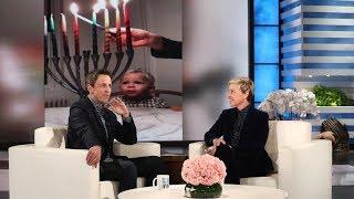 Seth Meyers' Son Is a Hanukkah Pro