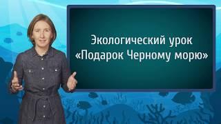 """Методический ролик по проведению экоурока """"Подарок Черному морю"""""""