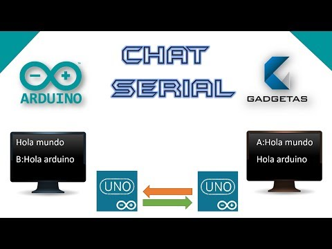 Chat Serial Usando Arduino Y SoftwareSerial