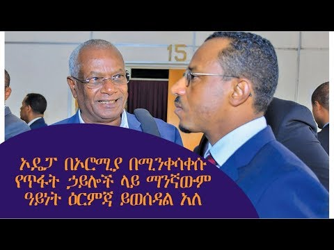 The latest Amharic News Dec 24, 2018