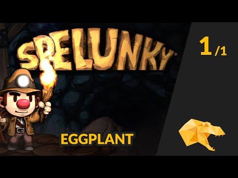 Solo Eggplant Run - Bananasaurus Rex [Spelunky]