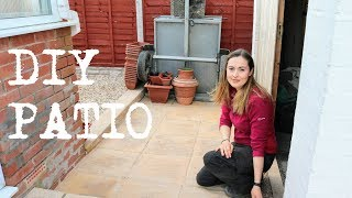 Laying a Garden Patio DIY | The Carpenter