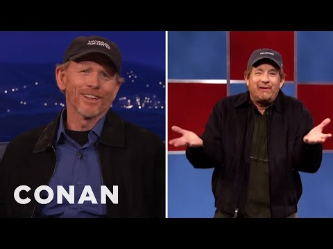 Ron Howard On Tom Hanks' Impression Of Him   CONAN on TBS