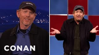 Download MP4 Videos - Ron Howard On Tom Hanks' Impression Of Him  - CONAN on TBS