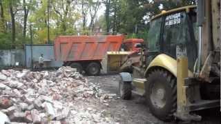 Отгрузка, продажа боя кирпича после демонтажа здания(ООО