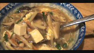 Hot And Sour Soup - How To Make - 酸辣湯 - Home Made