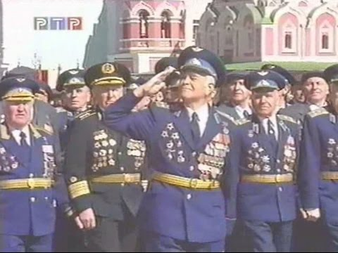 Russian Army Parade, Victory Day 2000 Парад Победы