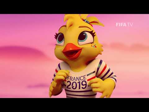 REVEALED: Official Mascot for FIFA Women's World Cup France 2019™