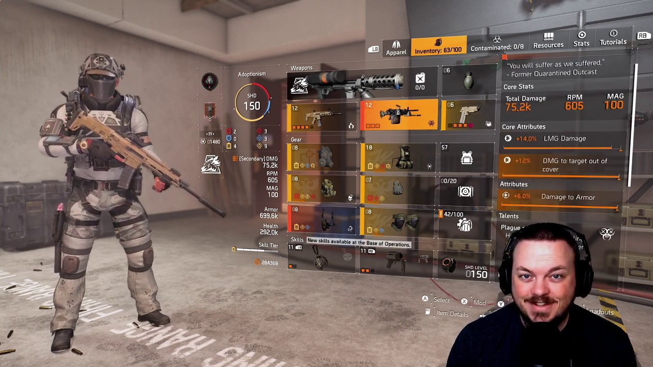 INSANE DoTs! (Damage Over Time) - The Division 2 - STATUS EFFECT BUILD!