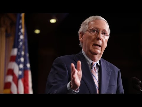 McConnell, With Majority at Risk, Returns to an Old Target: Obama