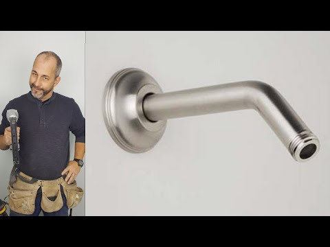 1 Minute Tutorial How To Change a Shower Arm