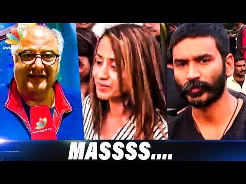 Petta, Viswasam Celebs Reaction   Trisha, Dhanush, Boney Kapoor   Hot Tamil Cinema News
