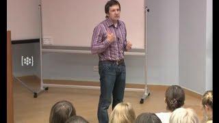 Мастер-класс для студентов-журналистов, Владимир Соловьев, часть 1