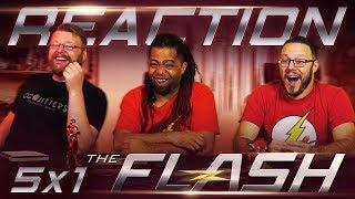 The Flash 5x1 PREMIERE REACTION!!