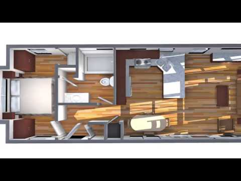 Expert Home One Bedroom Fairmont Park Model RV Tour