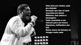 "Criolo ""Esquiva Da Esgrima"" Letra (Lyrics)"