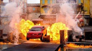 cascadeurs  de moteur action stunt show spectacular