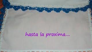 Repeat youtube video PUNTILLA DE FLORES FACIL DE REALIZAR ((GANCHILLO)).