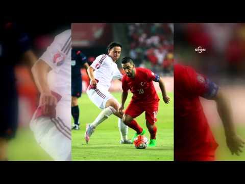 Türkiye - Letonya maçından objektiflere yansıyanlar