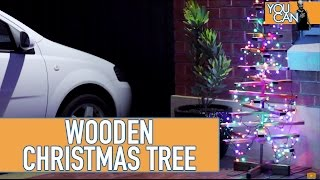 How To Make A Simple Wooden Christmas Tree