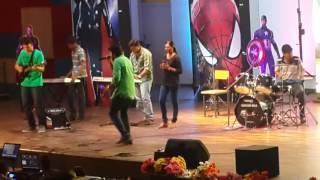 Manjal Veyil (Vettaiyaadu Vilaiyaadu)   DSMC Band   KIMS 2016   Pon Prabu