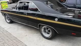 DODGE CHARTER R/T 1975 TRIPLE BLACK RONCA LINDO DE MAIS ( W.O.T. 01123052208)