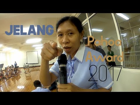 Jelang Pahoa Award 2017