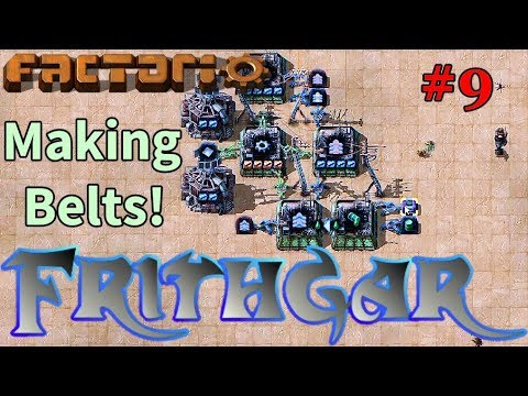 Let's Play Factorio #9: Belt Production!