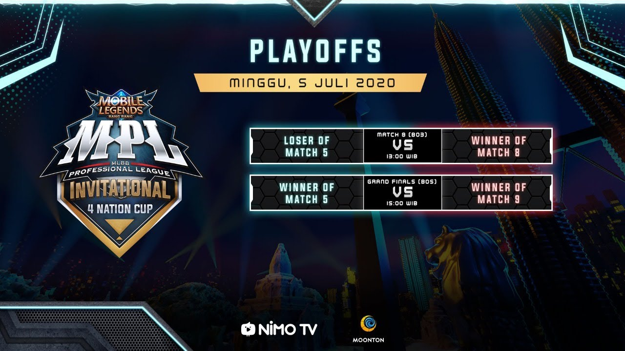 [Bahasa Indonesia] MPL Invitational Playoffs Day 3